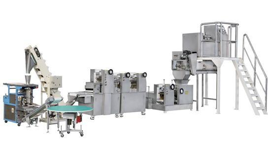 fresh noodles making machine